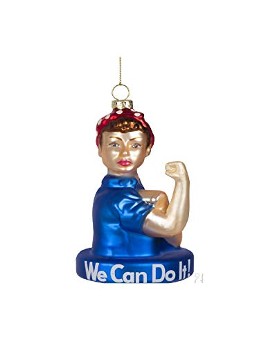 Archie McPhee Rosie The Riveter Ornament