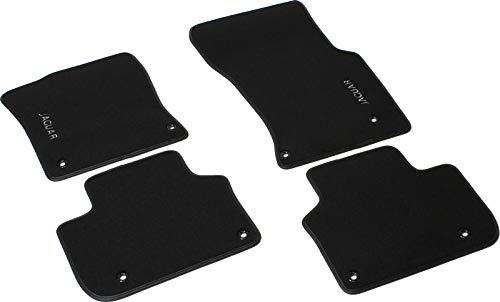 Autoteppich By Fabra 3 - J-XF-RESTYLING-NE - Auto-Fußmatten aus Velours Farbe schwarz bestickt
