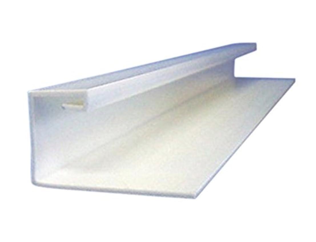 指定戸口きつくコ型塩ビ天井見切縁(白)コ型C-9.5×1820mm 15個入り