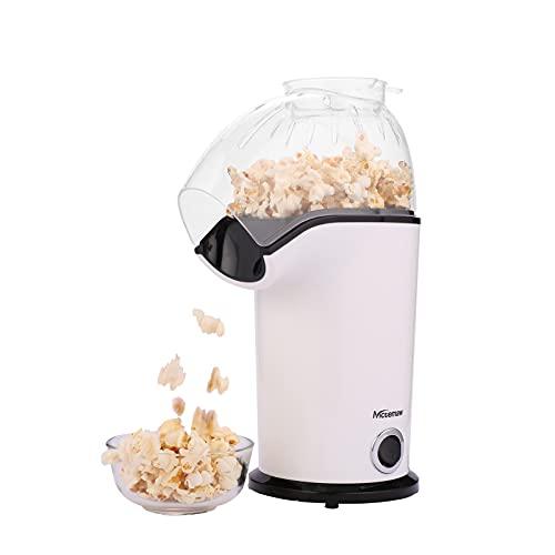Nictemaw Hot Air Popcorn Machine, 1400W Electric Popcorn Maker, Popcorn Popper Maker, Popcorn Maker...