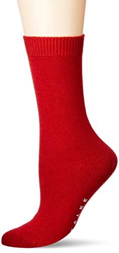 FALKE Damen Socken, Cosy Wool W SO-47548, rot (chili 8294), 35-38