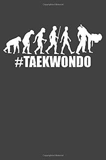 ##Taekwondo: Taekwondo Evolution, Small blank sketchbook (6