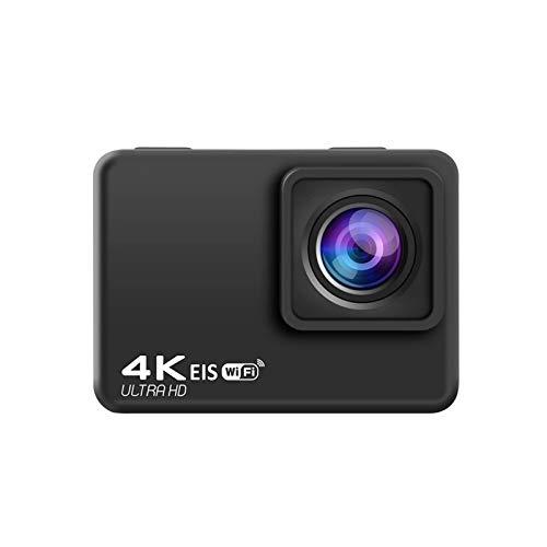 RJJG EIA Anti-vibración de la cámara, cámara, acción 4K / 60 FPS Deportes WiFi 2.0' a Prueba de Agua Control de Las cámaras de vídeo de grabación remota 170D Submarino l11.13A