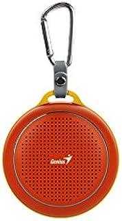جينيوس Sp-906Bt مكبر صوت للهواتف المحمولة – أحمر لامع