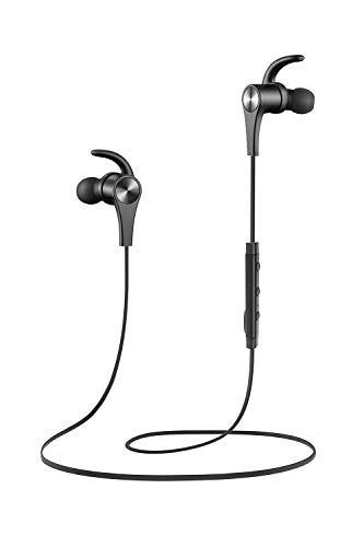 SoundPEATS Auriculares Bluetooth 4.1 Magnéticos Cascos Deportivos Inalámbricos con Mic,...