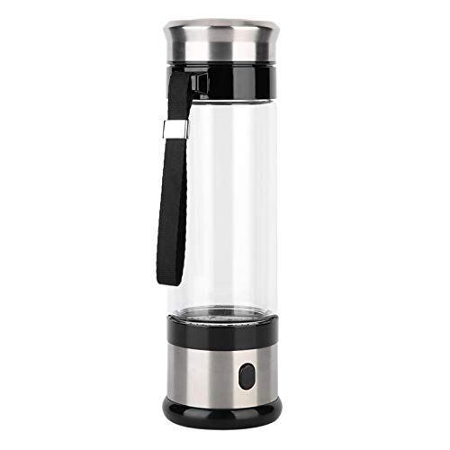Socobeta Hidrógeno rico agua taza USB hidrógeno rico agua taza USB cable de acero inoxidable botella alcalina taza para la cocina casera