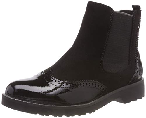MARCO TOZZI Damen 25496-21 Chelsea Boots, Schwarz (Black Comb 098), 40 EU