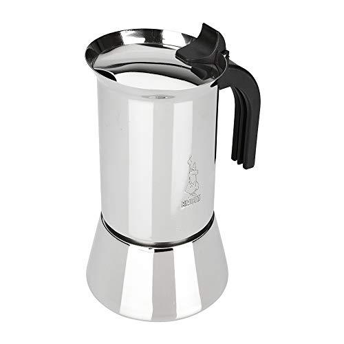 Bialetti New Venus, Espressokocher für induktion, Stahl, 4 Tassen