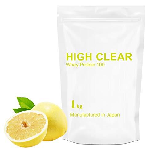 HIGH CLEAR グレープフルーツ風味 WPCホエイプロテイン100 1㎏(約40食分)