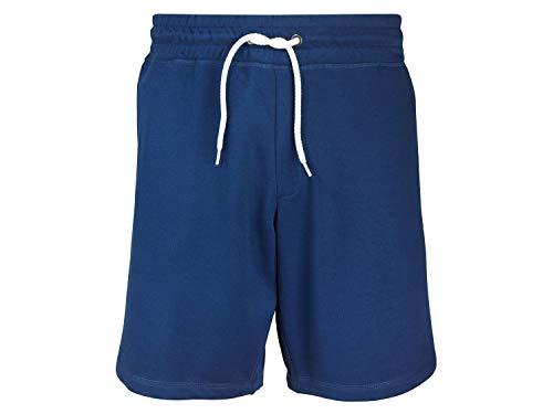 Livergy Herren Herren Sweatshorts Kurze Hose Sweathose Trainingshose Bermuda Blau 3XL 64/66