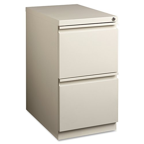 Lorell LLR49529 Mobile File Pedestal, Putty