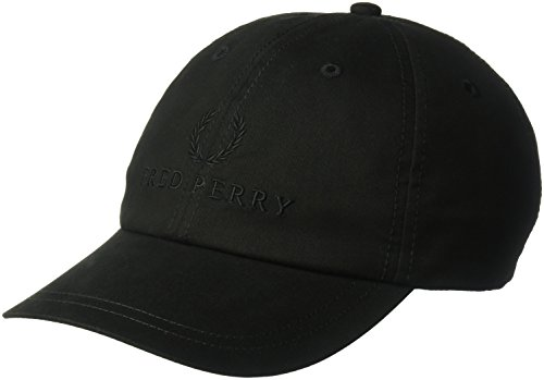 Fred Perry Authentics Tonal Fred Perry Tennis Cap One Size BLACK