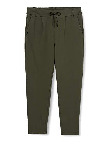 ONLY Damen Onlpoptrash Easy Colour Pant PNT Noos'' Hose, Peat, M 30