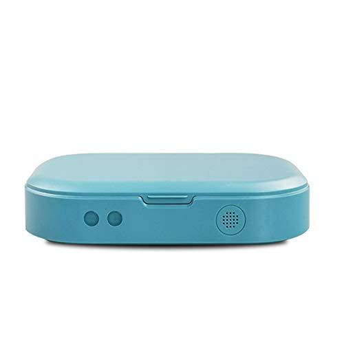 UV Sterilisator,Multifunktional UV Desinfektionsmittel mit Drahtloses Ladegerät, Geräumiger UV Box Handy Sterilisator mit Aroma Diffusor,Box Desinfektion,Geeignet für Handys, Brillen