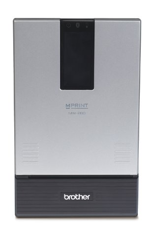 Brother Thermodrucker, Schwarz/Weiß, USB, Bluetooth (m-Print MW-260)