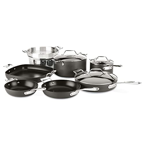All-Clad Essentials Nonstick Hard Anodized Cookware Set