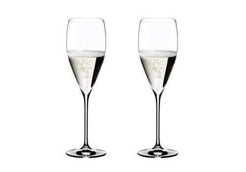 RIEDEL Vintage Copas de Champagne, Cristal, Multicolor, 26.3x13.5x29.9 cm, 2 Unidades
