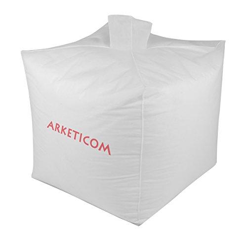 Arketicom Poly Plus Palline di Polistirolo per riempimento Pouf Poltrona Sacco, Sacca ad Imbuto in TNT, Taglia L 0,25 MC 250 Litri