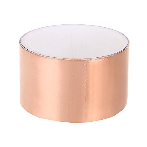 Shiwaki Rolle Emi Kupferfolien Abschirmband 1,8 X 50 Mm Leitkleber