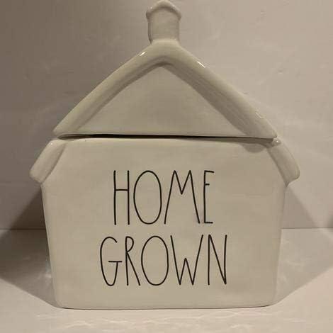 Rae Dunn HOME GROWN Farmhouse style Décor Fall and 2021 autumn winter Indefinitely new - Th Canister