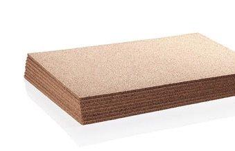 """WIDGETCO 12mm (1/2"""") Cork Underlayment (Box of 48 sq ft)"""