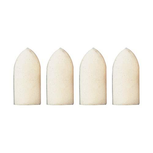 Dremel 422 Polierspitze - Zubehörsatz für Multifunktionswerkzeug mit 4 Polierspitzen Ø 10 mm zum Reinigen und Polieren von Silber, Stahl, Messing, Plexiglas, Kunststoff, Gold, Aluminium, Metall