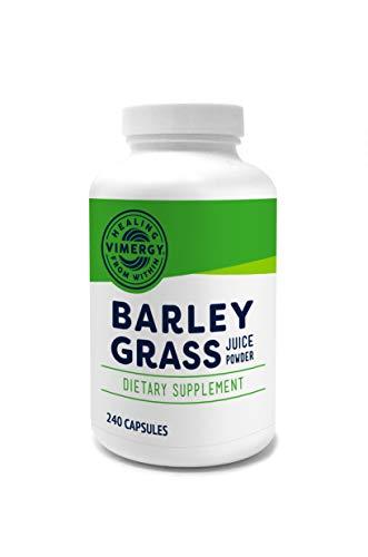 Vimergy Organic Barleygrass Juice Capsules (240 ct)