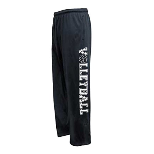 JANT girl Volleyball Sweatpant with Pocket (White, YM)