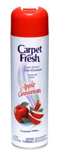 Carpet Fresh - 280174 Quick-Dry Foam, Apple Cinnamon, 10 OZ, Model: 280013