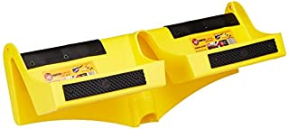 """Fits inside all 5"""" and 6"""" gutters to support a ladder safely in place while preventing gutter damage supports weight of ladder against fascia, not the gutter Installs easily into any 5"""" or 6"""" style gutter using a broom handle or pole to position ladd..."""
