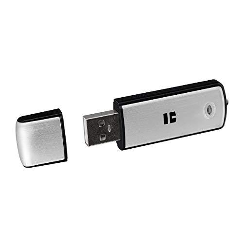 TREKSTOR USB-Stick CS 3.0, 64 GB (USB 3.0, Aluminiumgehäuse, Schreibschutzschalter) Silber
