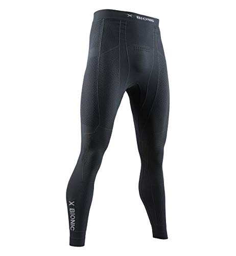X-Bionic Moto Energizer 4.0 Light Men Pants Homme, Charcoal/Pearl Grey, FR : 2XL (Taille Fabricant : XXL)