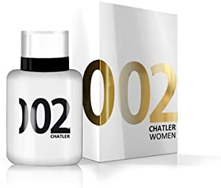002 WOMEN by Chatler - Mujer - EDT 100ml - Fragance made in France