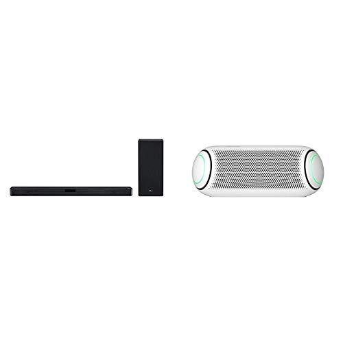 LG SL5Y 2.1 Channel High Resolution Sound Bar w/ DTS Virtual:X, Black