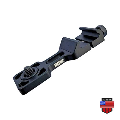 POV Mounting Systems Witness gun rail mount Cantilever Picatinny Weaver Rail Side Mount for Sony, Contour, Ion, Garmin, Samsung