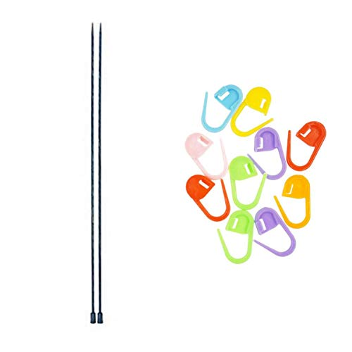 Knitter's Pride Knitting Needles Dreamz Single Point 14 inch (35cm) Size US...