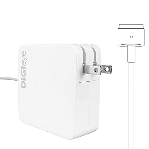 Charger for Mac Book Pro, AC 60W Magnetic T-Tip for Magsafe 2 Power Adapter Charger Replacement for Mac Book Pro Retina 13-inch and for Mac Book Air (After Late 2012)