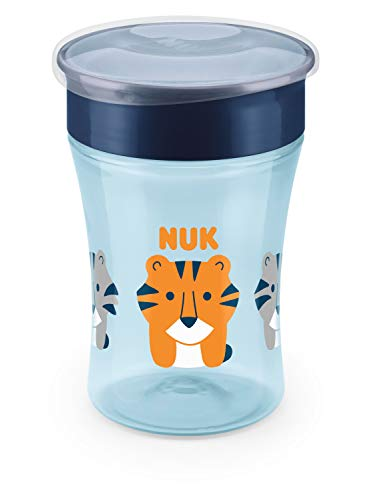 NUK Evolution 360 Cup, 8 oz, 1-Pack, Blue