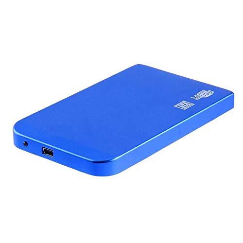 Andoer 2,5 pol. USB3.0 SATA SSD HDD caixa de disco rígido 5 Gbps 3 TB USB3.0 SATA portátil caixa de disco rígido (azul)