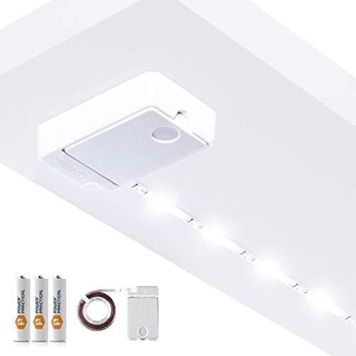 Lampe à DEL alimentée par batterie de 36 po