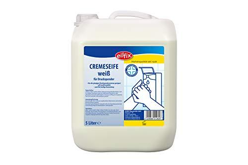 Eilfix Handseife/Cremeseife weiß- dermatologisch getestet- ph-neutral (5 L)