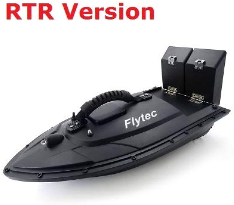 Generic Drop Shipping RC Boat Fishing Tool Smart Bait Boat Toy Dual Motor Fish Finder Fish Boat RC Fishing Boat Speedboat Toys Gift Black RTR Version