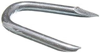 15 mm Approx. 90pcs Grey 15 mm x 1.7 mm 9//16 inch Merriway BH03718 Galvanised Netting Staple U Nail x 1.7 mm-50 g