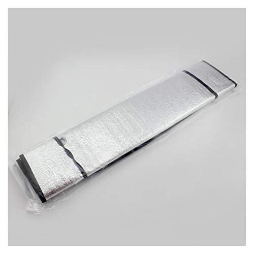 ooege OOE Coche de un Solo Lado de la Sombra Delantera Ventana Delantera de la Ventana del Sol de la Ventana de Aislamiento de Aluminio (Size : A)