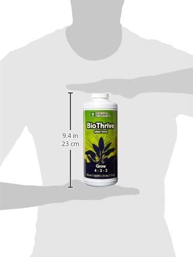 General Hydroponics GH5122 BioThrive Grow, 1-Quart