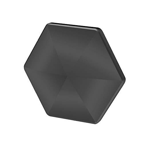 Hexagon Finger Spinning Toys, Aleación de Aluminio Spinning Toy Escritorio Flip Sensorial Finger Toy Alivio de la ansiedad Fidget Stress Antidepresión Juguete de Bolsillo para niños Adultos Niños