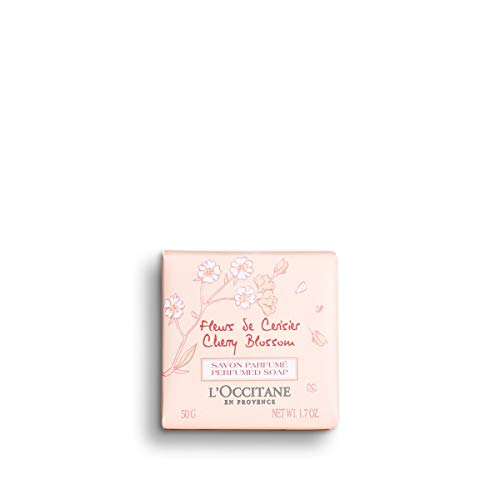 L'Occitane Fleurs de Cerisier Cherry Blossom Perfumed Zeep Pack (x)