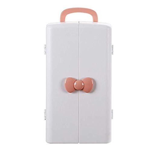 ZXL Boîte de Rangement cosmétique Rack 37.5 * 21 * 22cm de Produits de Soin de Peau de Rouge à lèvres de ménage de ménage antipoussière Simple de ménage (Couleur: B)