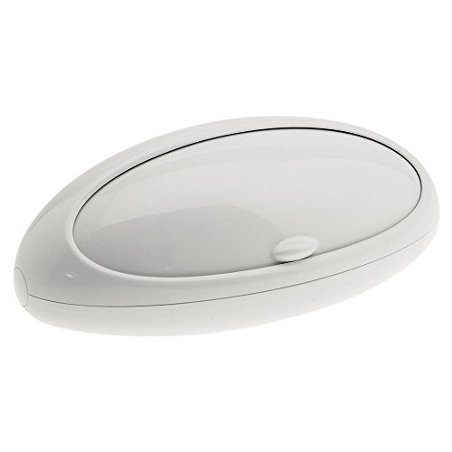 Alessi Gnam ASG22 W  Design Brotkasten, Thermoplastisches Harz, weiß