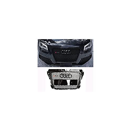 YQTYGB Rejillas Frontales De Radiador Parrilla Frontal, para Audi A3 ABS Gloss...